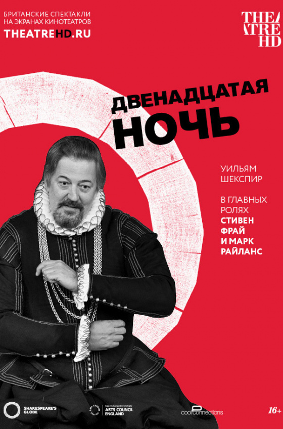 TheatreHD. Globe: Двенадцатая ночь