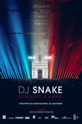 DJ Snake – The Concert In Cinema