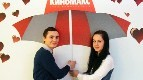 Сеть кинотеатров «Киномакс» поздравила своих посетителей с Днем всех влюбленных!