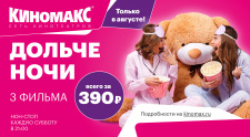 Кинотеатры «Киномакс» в г. Челябинске проведут субботние нон-стопы в августе